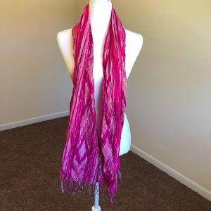 Maurices | Pink With Other Color Design Scarf